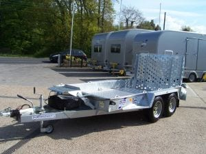 Hire trailers in Kent via John Page Trailers