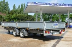 Hire Flatbed trailer via John Page Trailers
