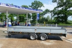Hire trailers via John Page Trailers