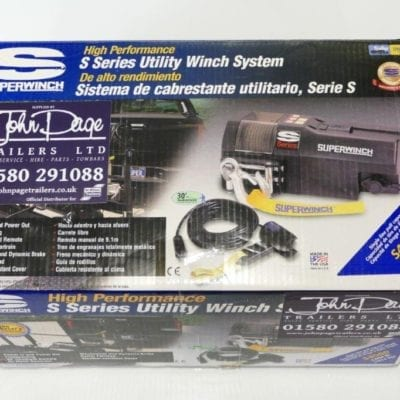 Superwinch for Ifor Williams