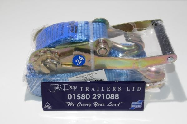 Securing straps from John Page Trailers