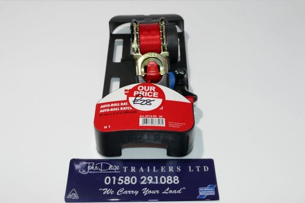 Load securing straps from John Page Trailers