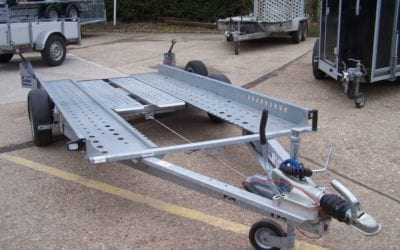 Ifor Williams CT115 car transporter