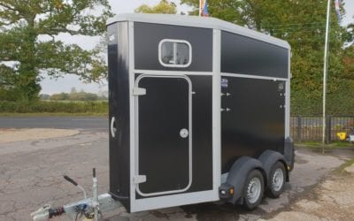 Used Ifor Williams HB403 single horse trailer