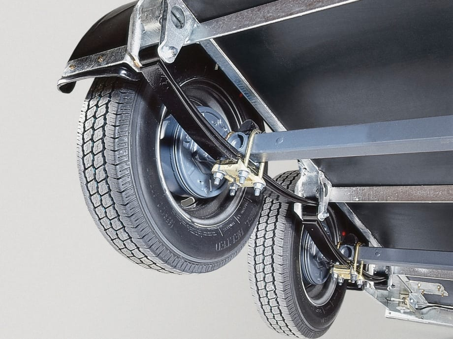 Parabolic Leaf Spring Suspension
