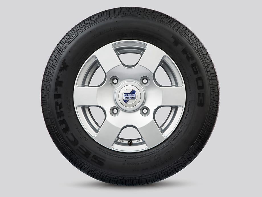 Alloy Wheels - 6 Spoke Silver