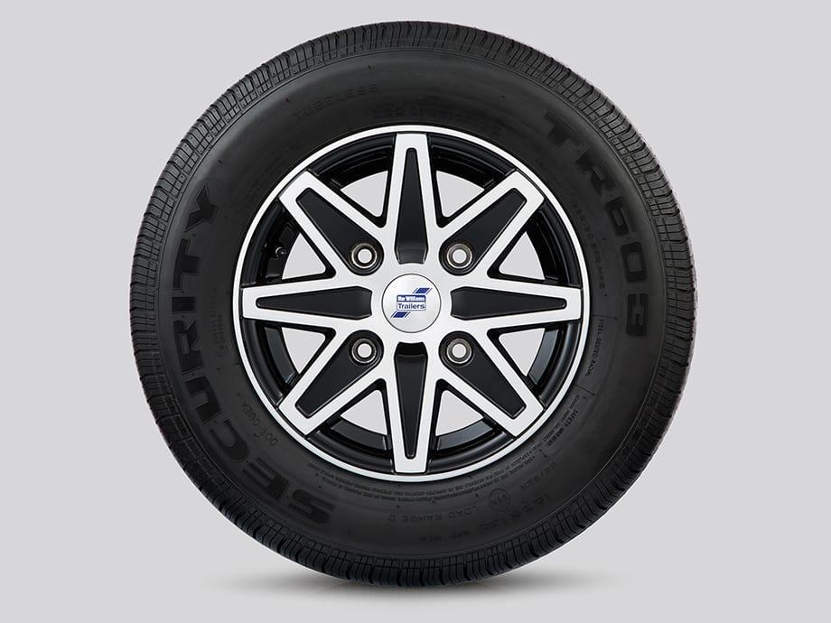 Alloy Wheels - 8 Spoke Diamond Cut