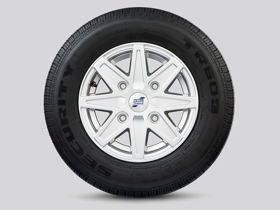 Alloy Wheels - 8 Spoke Silver