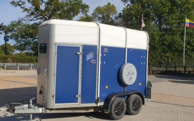 SOLD !  Ifor Williams HB505R in blue