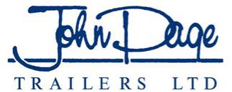John Page Trailers Blue Logo