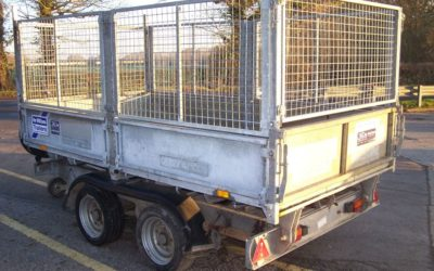 Used Ifor Williams TT105E tipping trailer