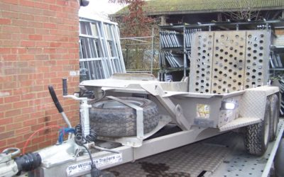 Used Ifor Williams GH94BT Plant Hire Spec