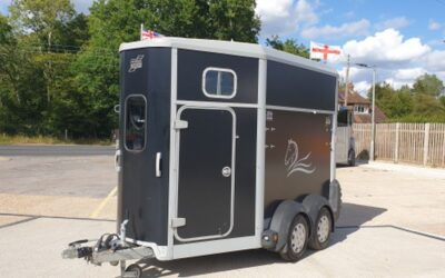 Ifor Williams HB506 loaded with extras