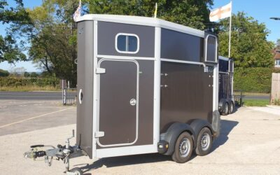 Used HB403 single horse trailer
