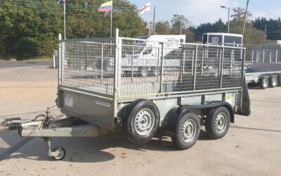NOW SOLD!!!   Used GD105 with ramp and mesh extensions